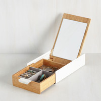 Dorm Decor Sophisticated Simplicity Jewelry Box by ModCloth