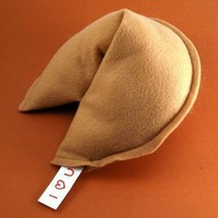 Fortune Cookie Pillow- large