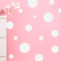Lil' Assorted Polka Dots Wall Decals