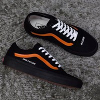 Vans x Control is an Illusion Fashion Old Skool Sneakers Sport Shoes