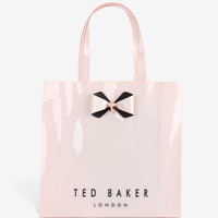 Large bow detail shopper bag - Pink | Bags | Ted Baker
