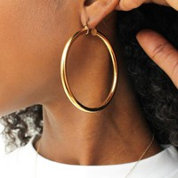 Sade Hoop Earrings - available in 3 sizes