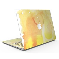 Yellow 53 Absorbed Watercolor Texture - MacBook Air Skin Kit