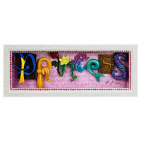 Disney Princess Icon Letters Shadowbox by Dave Avanzino | Disney Store