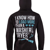 Hoodie: Load More Than A Washer and Dryer