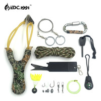 12 in1 Outdoor Camping Equipment Survival Kit