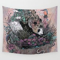 Land of the Sleeping Giant Wall Tapestry by Mat Miller