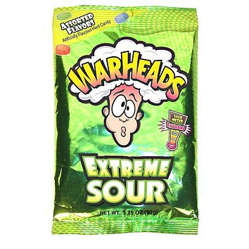 Warhead Extreme Sour Candy