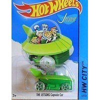 Hot Wheels The Jetsons Capusle Car NIB NIP HW City New in Package New in Box