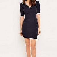 Urban Outfitters Knitted Polo Dress - Urban Outfitters