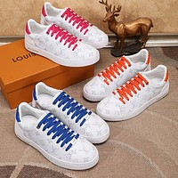 Wearwinds Louis Vuitton LV new couple casual printed alphabet sneakers