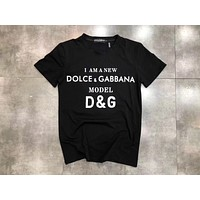 D&G Women Men Hot Tunic T-shirt Top Blouse