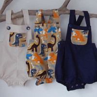 Baby Boys Clothes Boys Rompers Baby boys rompers Dinosaur Romper Summer Sunsuit Toddler Clothes Baby Shower Christening