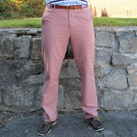The Campus Pant in Washed Red by Southern Proper