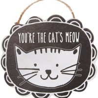 You're the cat's meow Ornament with Magnet Ornament