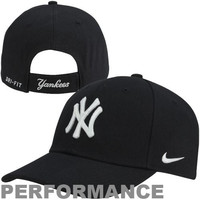 Nike New York Yankees Dri-FIT Classic Adjustable Performance Hat - Navy Blue