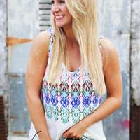 Multi Perspective Tank {Ivory}
