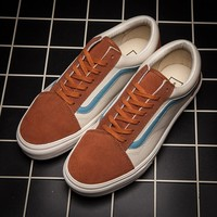 Vans Classic Fashion Old Skool Flats Sneakers Sport Shoes-179
