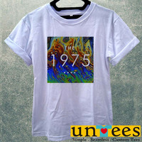 RAinbow COlors The 1975 Band Logo Women T Shirt