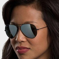 Ray-Ban RB3025 - Large Metal Aviator Sunglasses For Women and Men