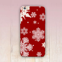 Christmas Snowflakes Phone Case  - iPhone 6 Case - iPhone 5 Case - iPhone 4 Case - Samsung S4 Case - iPhone 5C - Tough Case - Matte Case