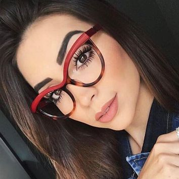 Bailee- Cat Eye Clear Glasses