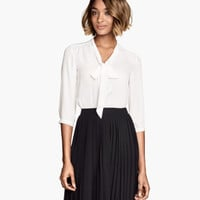 Bow Blouse - from H&M
