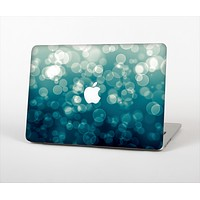"""The Green Unfocused Orbs Of Light Skin Set for the Apple MacBook Pro 13"""" with Retina Display"""