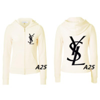 YSL fashion sells colorful logo fashionable coats