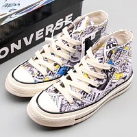 Trendsetter Converse One Piece Women Men Fashion Casual High-Top Canvas Old Skool Shoes