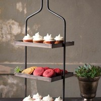 Metal 3 Tiered Display