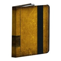 Powis iCase - Antique Book iPad Case with 9 Position Stand and magnetic sleep/wake mode for the Apple iPad 2