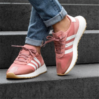 ADIDAS Flashback Raw Pink & Off White Womens Shoes