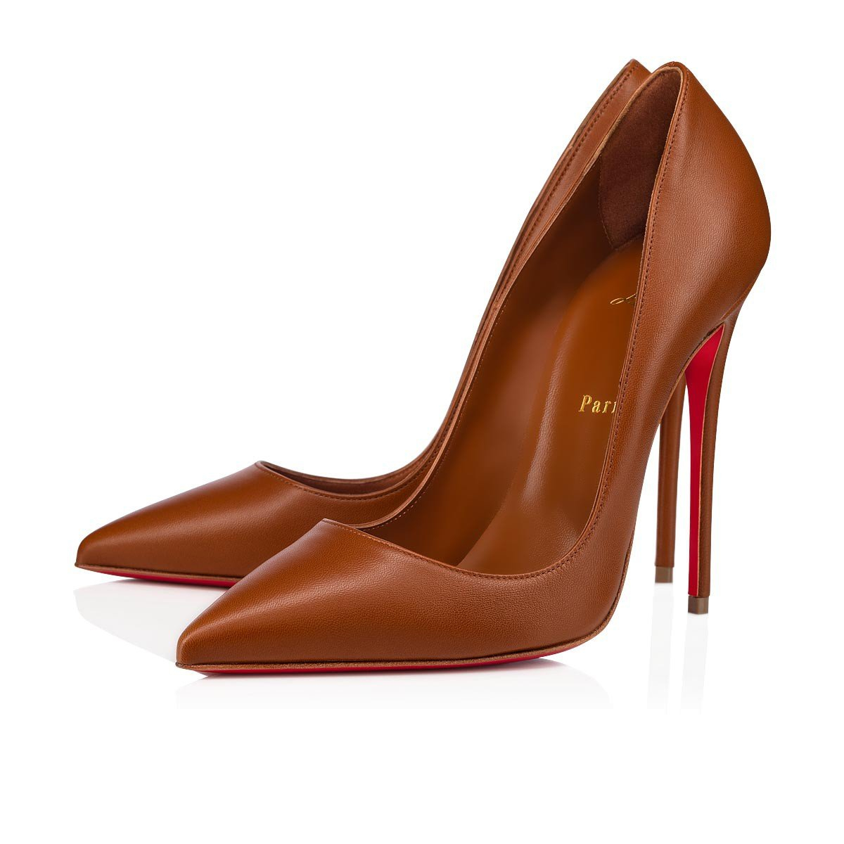 Image of Christian Louboutin New pointed high heels 3.16