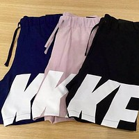 NIKE Newest Fashionable Men Women Casual Print Sports Running Shorts