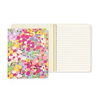 Concealed spiral notebook, floral dot | kate spade new york