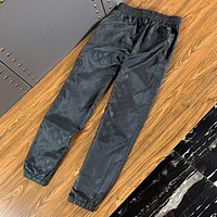 Louis Vuitton LV Newest Trending Men Casual Pants Trousers Black