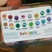 Our Choice Variety - 12 Pack of Happiness bath bombs 2.5 oz each