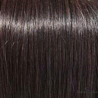 """21"""" Clip In Remy Hair Extensions: Off Black No. 1B"""