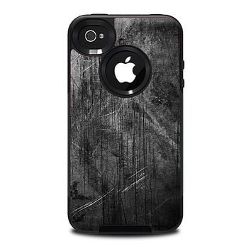 The Grunge Scratched Metal Skin for the iPhone 4-4s OtterBox Commuter Case.png