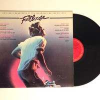 Vinyl LP Footloose Original Motion Picture Soundtrack Album Record Kevin Bacon Bonnie Tyler Dancing