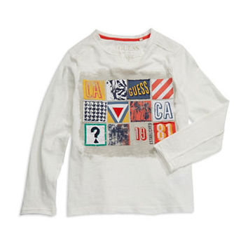 Guess Boys 8-20 Patch Graphic Tee