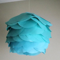 3 Chinese lanterns 5 1/2 in tissue paper circles by CreateItGirl