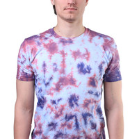 Indie Acid Wash T-shirt Soft Grunge Alternative Skater Style Tie Dye Batik Clothing
