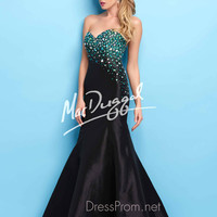 Strapless Sweetheart Formal Prom Gown By Mac Duggal Flash 76567L