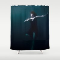 Dancing Under The Water Shower Curtain by Nicklas Gustafsson