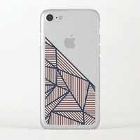 B Rays Geo 2 Clear iPhone Case by Fimbis