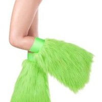 Rave Festival Fluffies - High Quality Leg Warmers - Made in USA - 30% Off Now