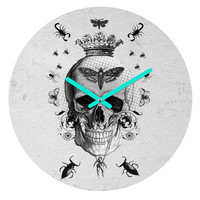 Elo Designs Life After Death Round Clock