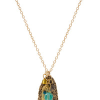 Payson Feather Necklace